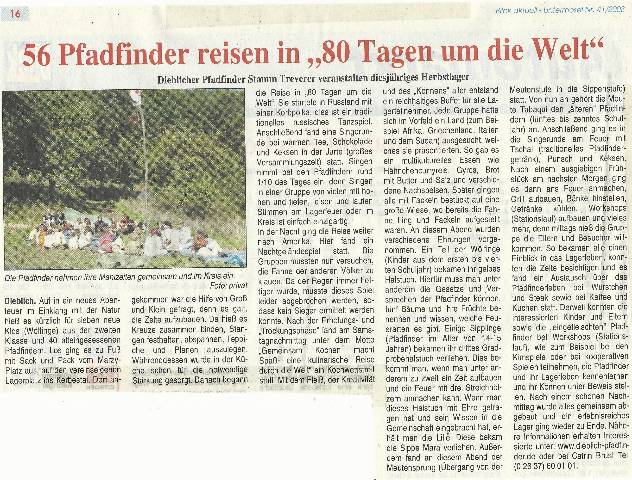 Pressebericht HeLa 2008