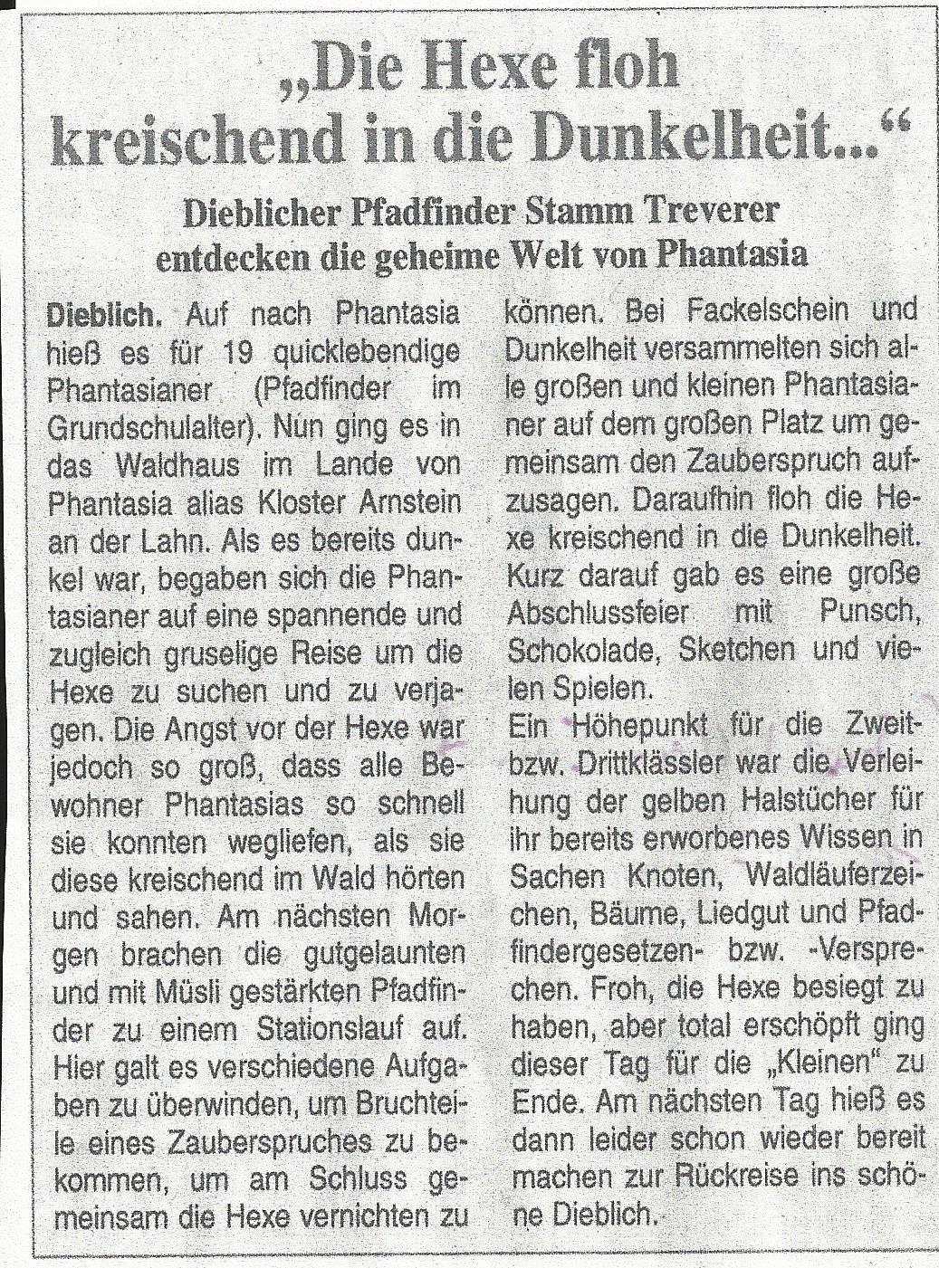 Pressebericht MeuWiLa 2007