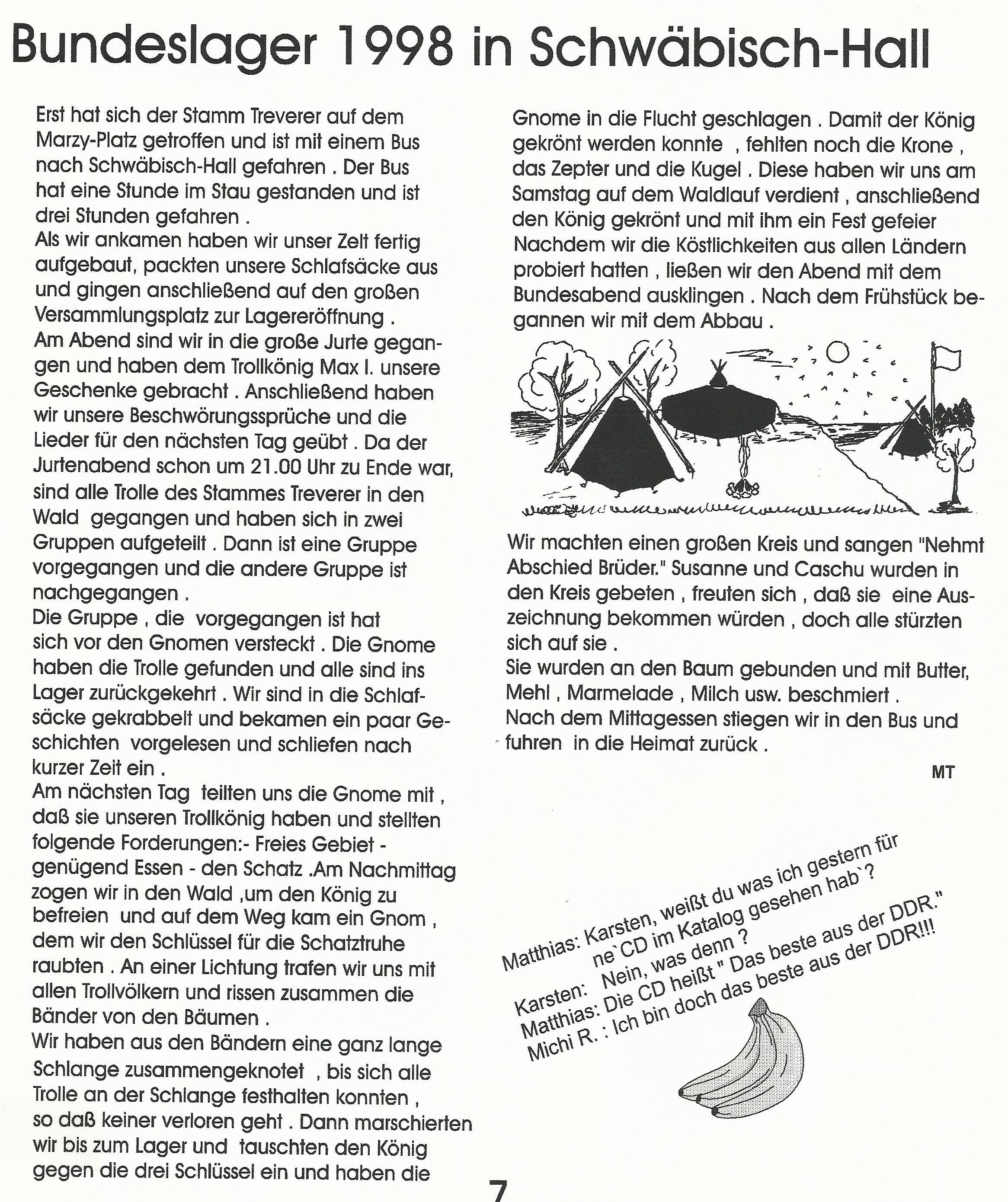 BuLa 1998 in Schwäbisch-Hall