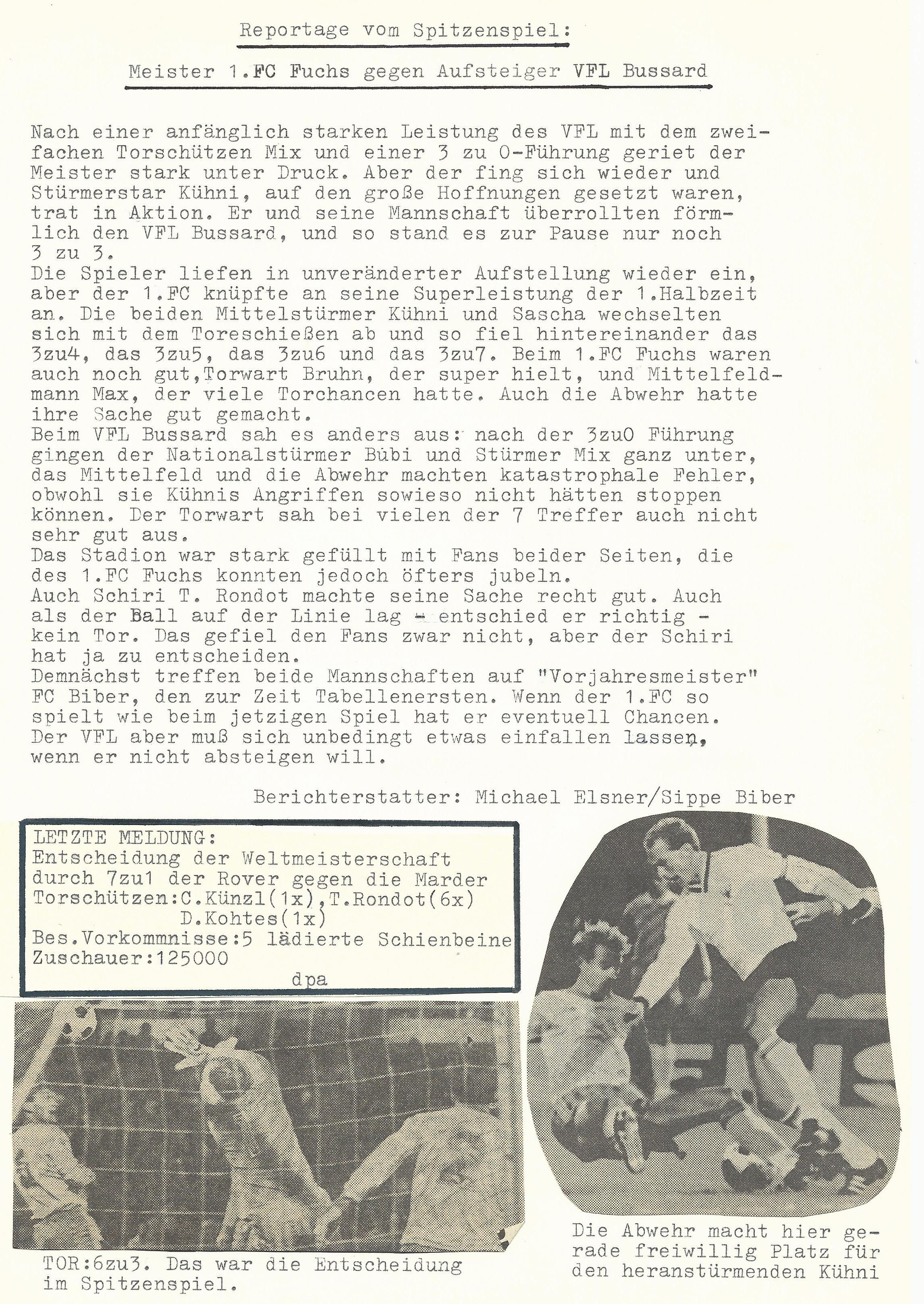 Fussball 1985