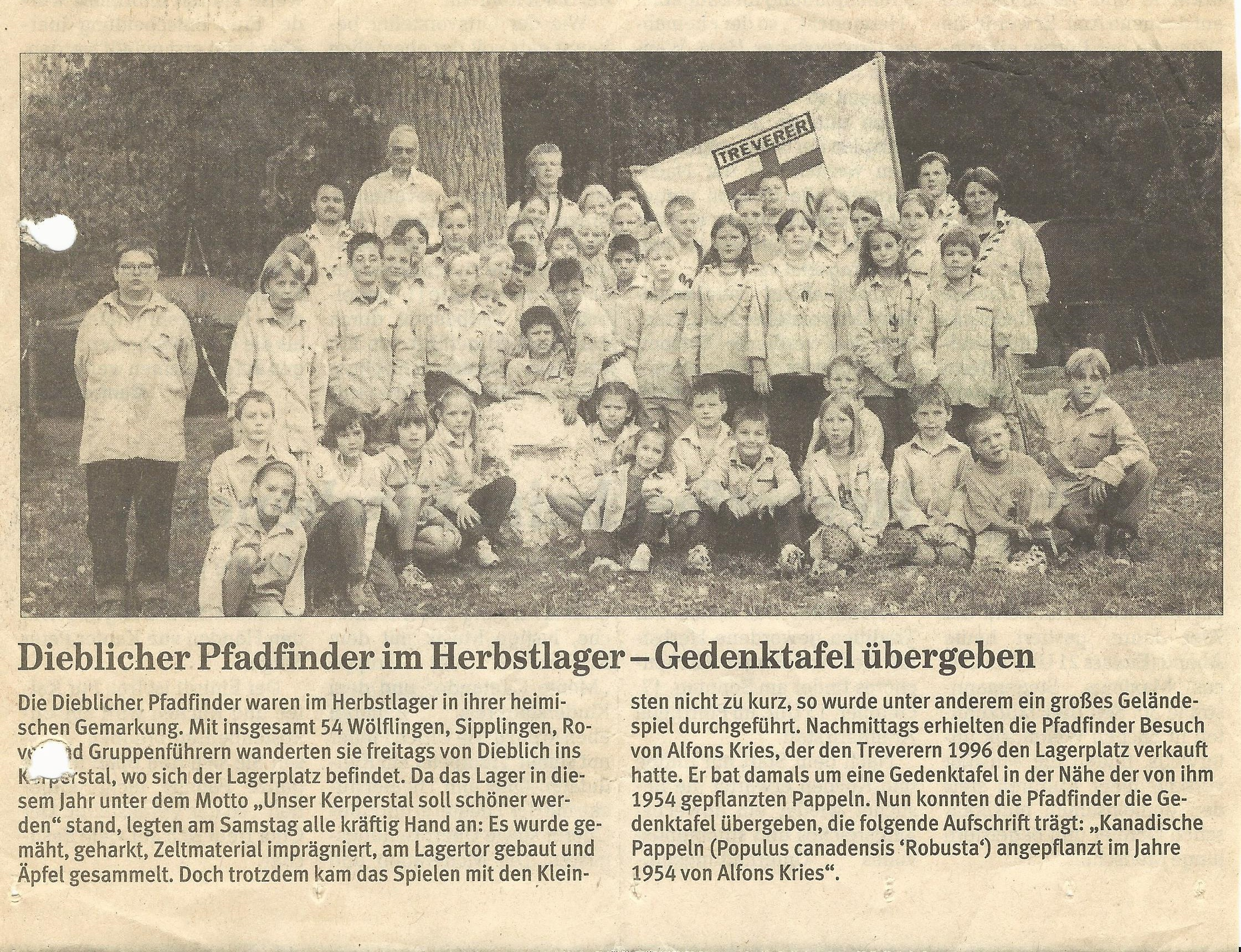 HeLa 1999 Pressebericht