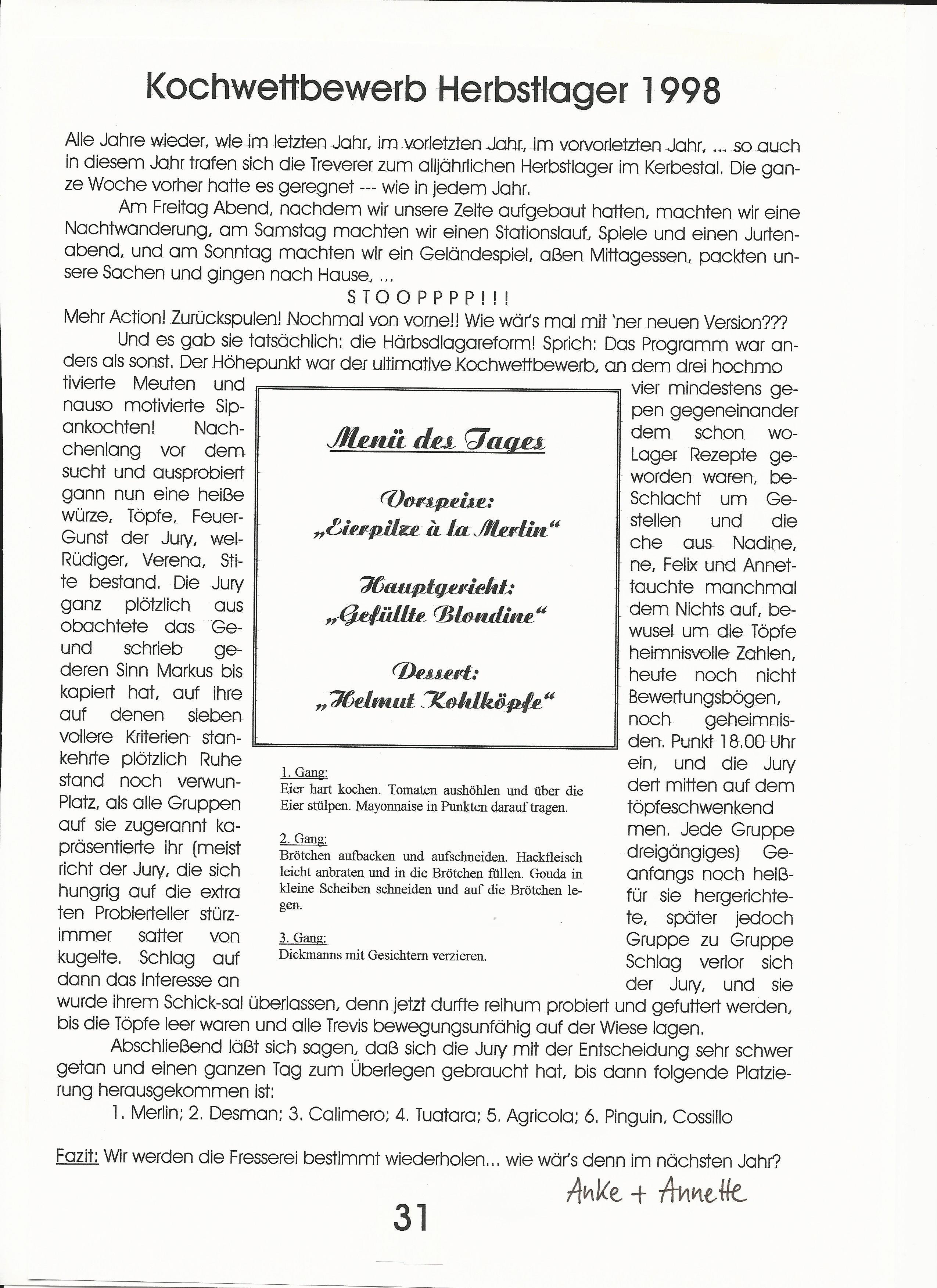 Kochwettbewerb Herbstlager 19980001