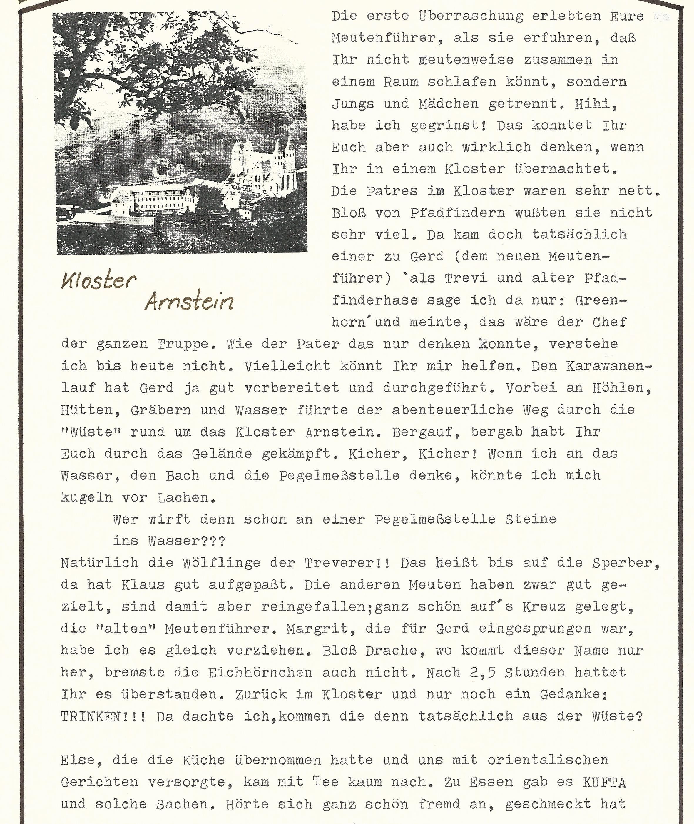 Meutenwinterlager 1989 Kloster Arnstein0002