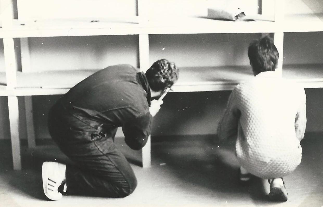 Neuer Gruppenraum Februar 1985 1