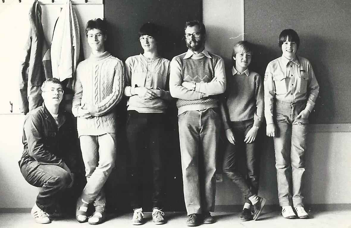 Neuer Gruppenraum Februar 1985 3