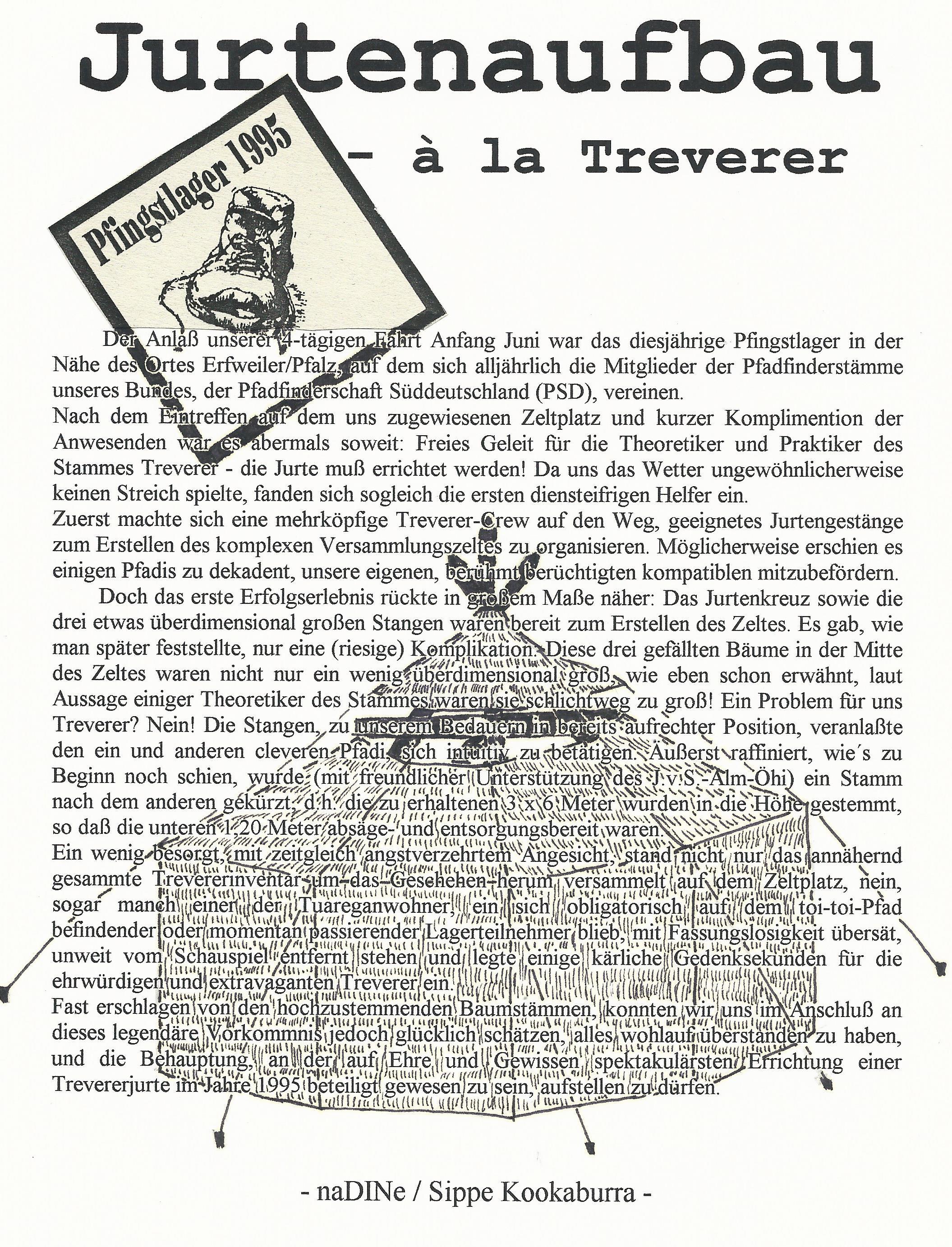 Pfingstlager 1995
