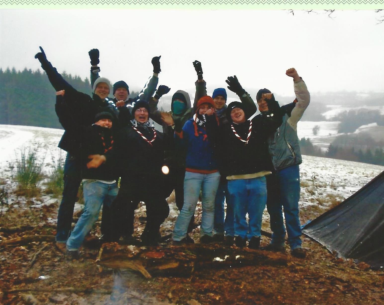 Schneekohtenfahrt 2009 1