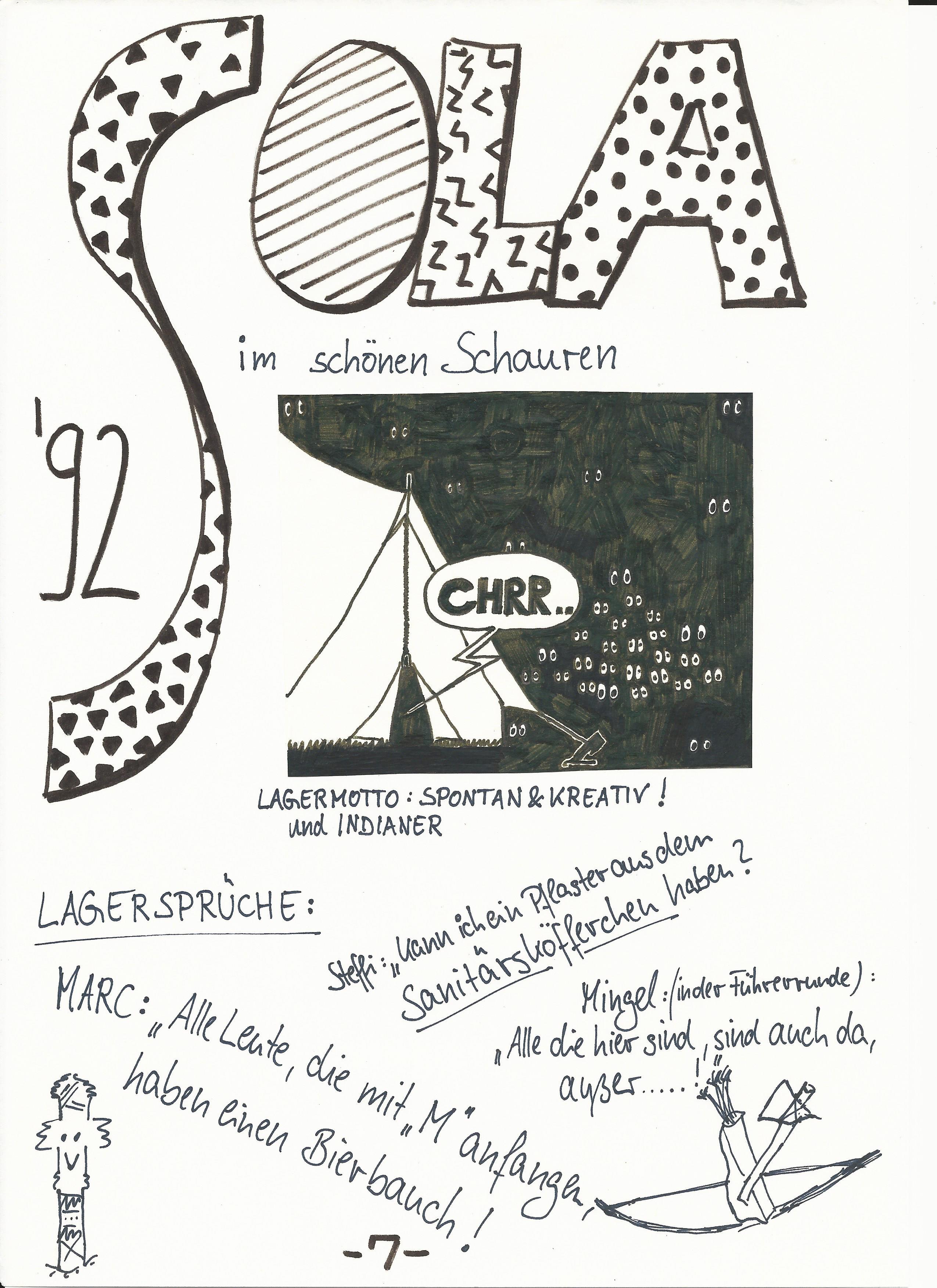 SoLa 1992 in Schauren