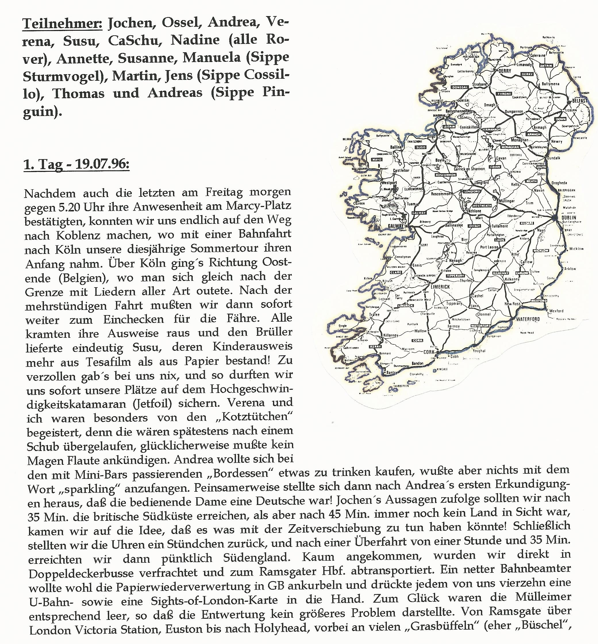 SoLa 1996 Irland