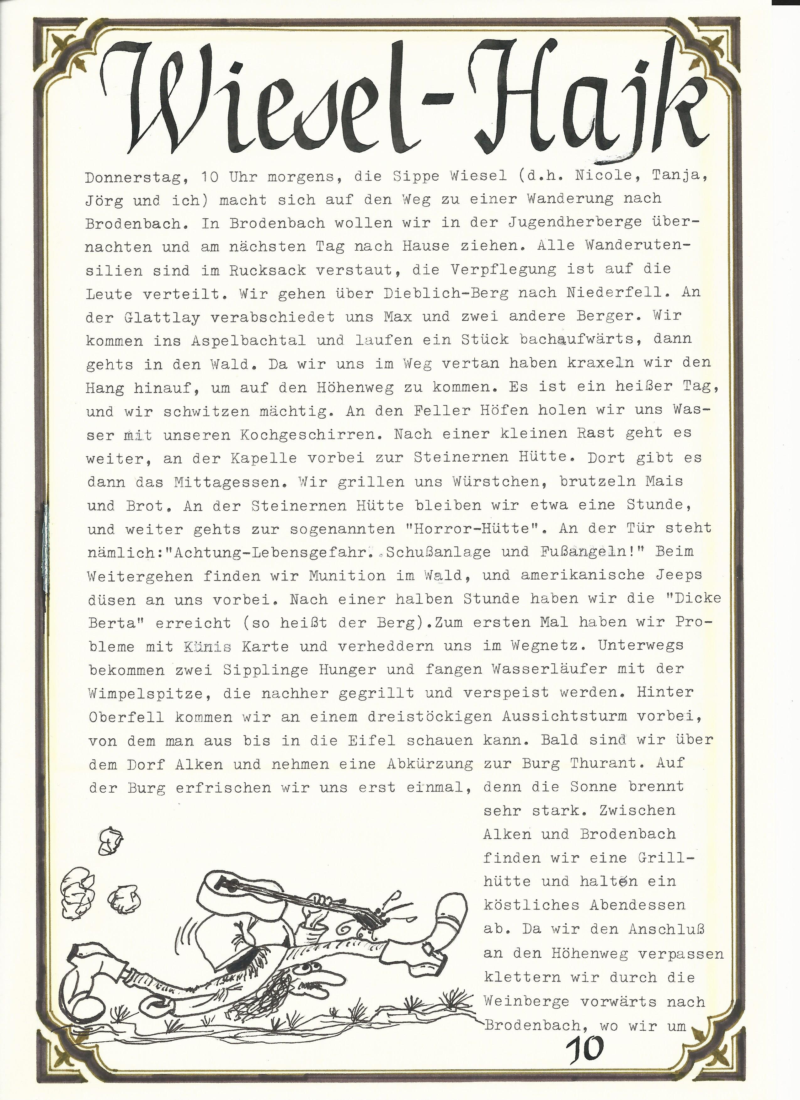 Wiesel-Hajk 1988 nach Brodenbach0001