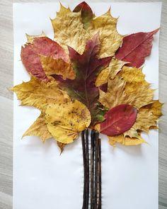 Ein Baum aus Blättern